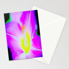 Electric Bloom Stationery Cards