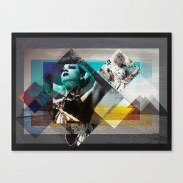 White sand Canvas Print