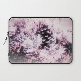 White Pine, Christmas Snowfall Laptop Sleeve