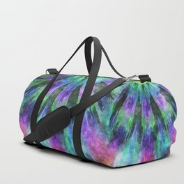 Colorful Tie Dye Watercolor Duffle Bag