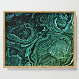 MALACHITE GREEN Serving Tray