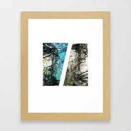 Mind V.S. Heart Framed Art Print