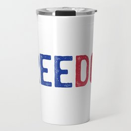 Freedom usa Travel Mug