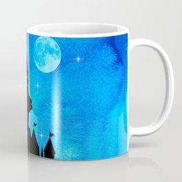 Magical Watercolor Night - Alice In Wonderland Coffee Mug