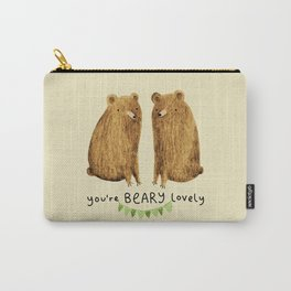 Beary Lovely Carry-All Pouch