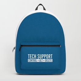 Tech Support Funny Quote Backpack