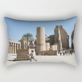 Temple of Luxor, no. 28 Rectangular Pillow