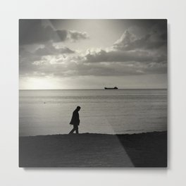 far out at sea Metal Print