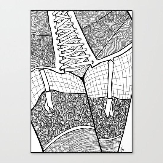 La femme 11 Canvas Print