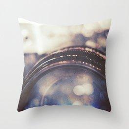 Vintage Zenit-B Camera Diptych Throw Pillow