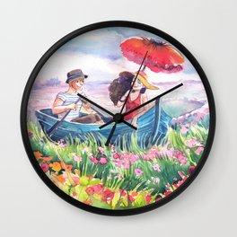 Fields of Love Wall Clock
