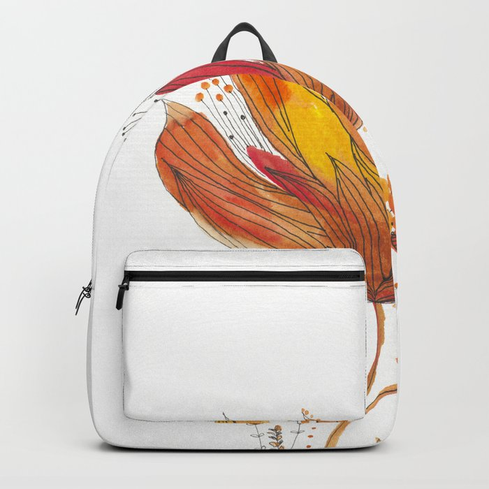 Botanical vibes 13 Backpack