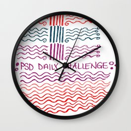 PSD Daily Challenge Wall Clock