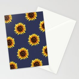 Sunflower // Navy Edit Stationery Cards