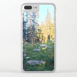 Wild Basin Clear iPhone Case