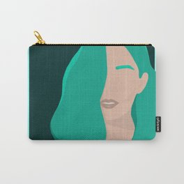 Hint of Mint Carry-All Pouch