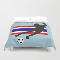 thailand Duvet Covers featuring Thailand - WWC by Alrkeaton