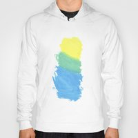 water color Hoodies featuring Water Color by Kimberly Jones