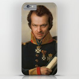 Jack Torrance Portrait iPhone Case
