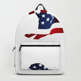 Independence Day USA Funny Dog Gifts Backpack
