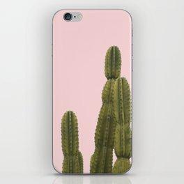 BLUSHING CACTUS iPhone Skin