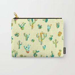 Cactus colorful pattern Carry-All Pouch