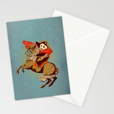 The Panda's Ride  Stationery Cards