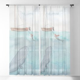 Connecting Sheer Curtain