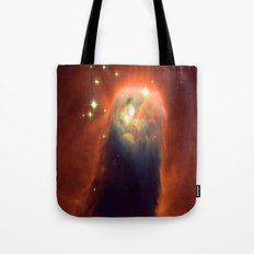 Space Volcano Tote Bag