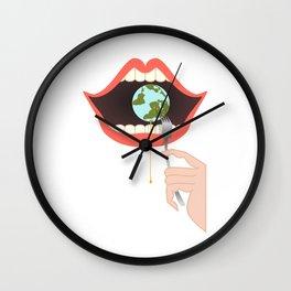 Eater Wall Clock