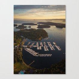 Roche Harbor Canvas Print