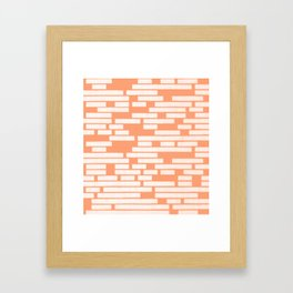 Abstraction_LINES_01 Framed Art Print