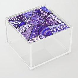 Doodly Do (in purple) Acrylic Box