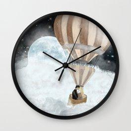 moonlight kisses Wall Clock