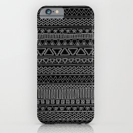 Keef Black and White 2 iPhone Case