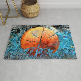 Basketball art swoosh 79 Rug