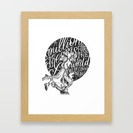 A Million Dreams Framed Art Print