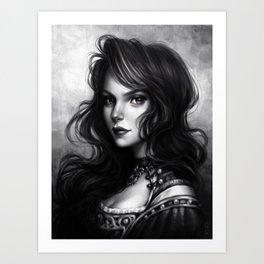 Yennefer of Vengerberg Art Print