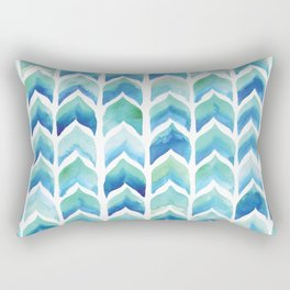 Whale Tails Rectangular Pillow