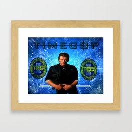 Cop Of The Future Framed Art Print