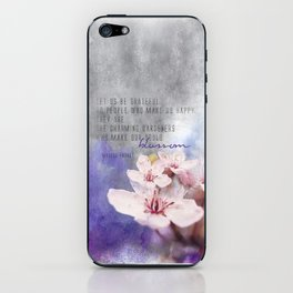 Our Charming Gardeners iPhone Skin