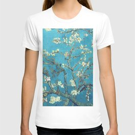 Branches with Almond Blossom - Vincent van Gogh T-shirt