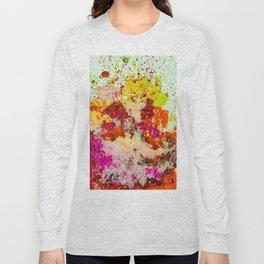 Neon Splash Long Sleeve T-shirt