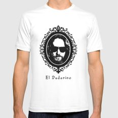 El Dudarino Mens Fitted Tee MEDIUM White
