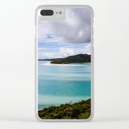 Whitsunday Islands- Whitehaven Beach Clear iPhone Case