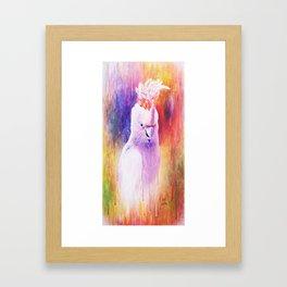 Painted On Framed Art Print
