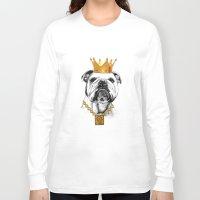 dog Long Sleeve T-shirts featuring dog by mark ashkenazi