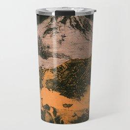 serene volcano Travel Mug