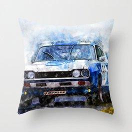 H. Stuck, Capri 2600RS -1972 Throw Pillow
