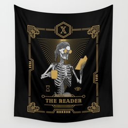 The Reader X Tarot Card Wall Tapestry
